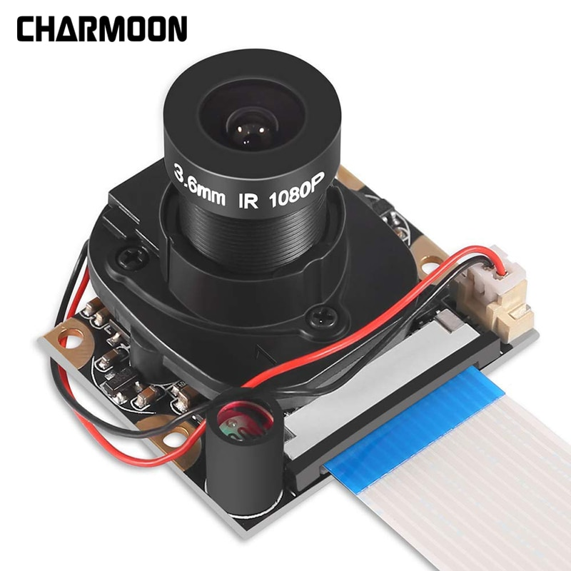 for raspberry pi camera module with automatic ir cut night vision camera 5mp 1080p hd webcam for raspberry pi 4b model 3 b For Raspberry Pi Camera Module with Automatic IR-Cut Night Vision Camera 5MP 1080p HD Webcam for Raspberry Pi 4B  Model 3 B+