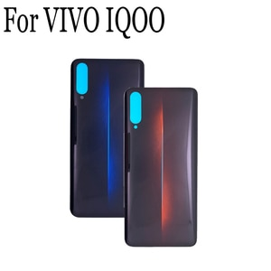 100% New Battery Back Rear Cover Door Housing For VIVO IQOO Battery Back Cover For VIVO IQOO Replacement Parts VIVOIQOO Cases