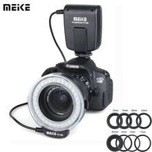 Meike FC 100 Speedlite Macro LED anneau lumière Studio Photo pour Nikon D200 D3100 Canon EOS 70D 60D T4i T3i 6D DSLR Camara