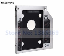 NIGUDEYANG 2nd Disque dur Cadre HDD SSD baie Optique Caddy pour Adaptateur HP ProBook 655 650 645 640 G1 G2 G3