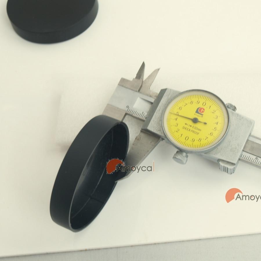 M60.5 60.5mm tampas da lente para a lente do cctv escopos de spotting telescópio binocular tampa traseira poeira capa protetor poeira