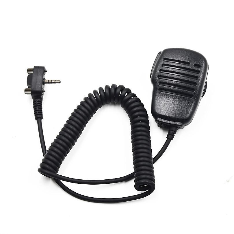 XQF Walkie Talkie altavoz micrófono PTT para vértice estándar CB Radio VX-160 VX-231 EVX-531 VX-350 VX-354 jamón transceptor