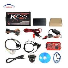 Kess V2 V5.017 Kit de réglage de chargeur   Kess V2 V2.23 OBD2, nouveau rouge PCB