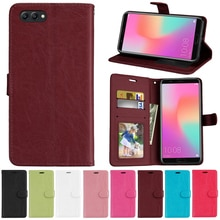 For Huawei Honor View 10 Case Cover PU Leather Cover Silicone Phone Bag Cases For Honor View10 View