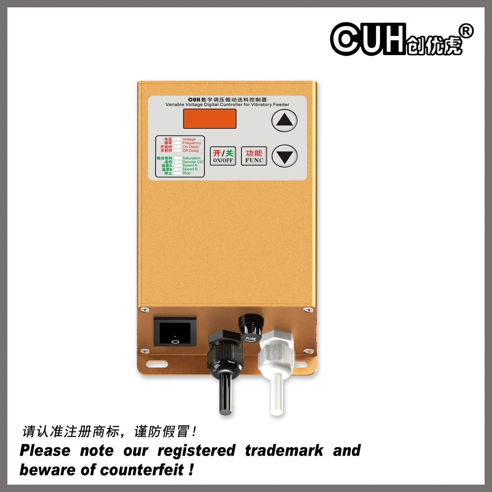 SDVC20-L (10A) وحدة تحكم الجهد المتغير ل اهتزازي السلطانية/أجزاء/المغذية الخطية alimentador tazone فيبراتوريو