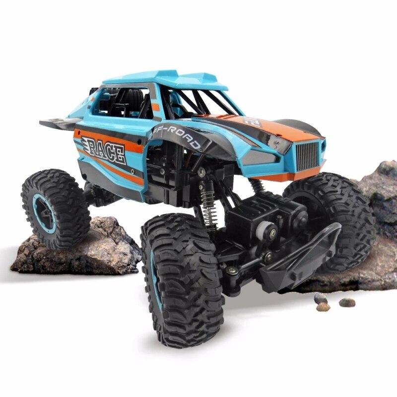 2.4G 4WD Bigfoot Car Remote Control Climbing off load Car Model Toy Vehicle RC Buggy Car Rock Crawler Car Remote Control Toy gif enlarge