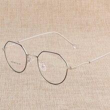 Hotony Rezept Brillen Optische Spektakel Brille Rahmen mit 6 Optional Farben Freies Montage mit Optischen Linsen D818