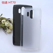 Licht Gewicht Schwarz Weiß Weiche Tpu Telefon Fall Für Homton HT70