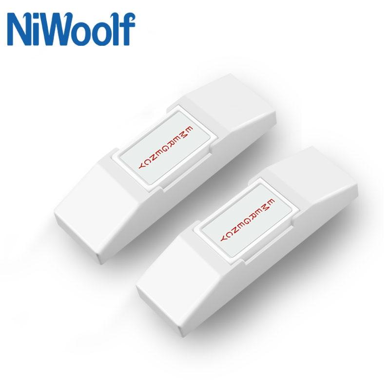 2 uds. Botón de pánico con Cable para sistema de alarma de puerta con botón de timbre de Casa Cable soporte del sistema, Cable para botón para sistema de control de acceso