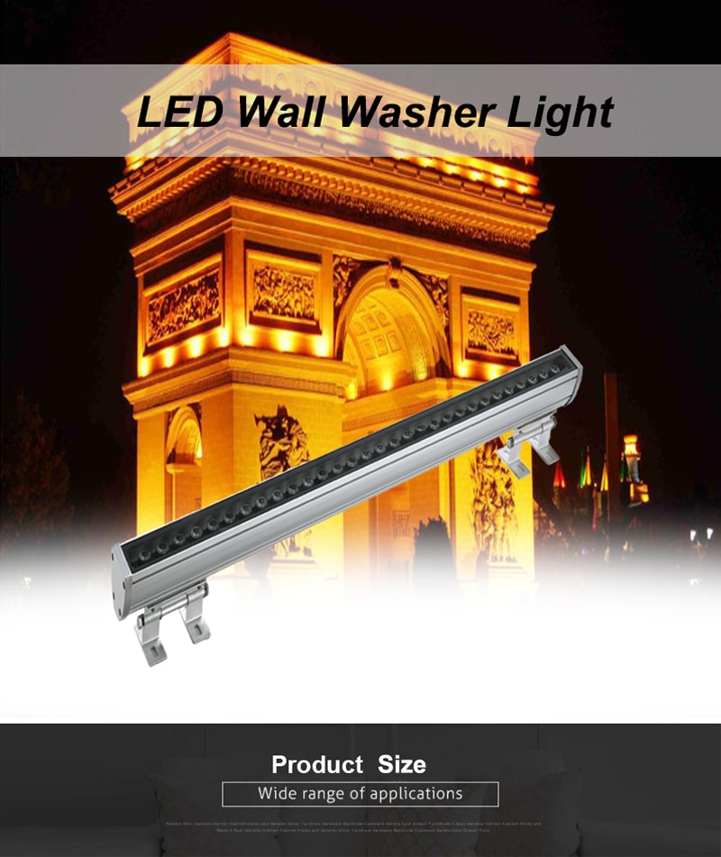 Free shipping 36W LED Wall Washer Light,IP65 LED Outdoor light 2 years 0-10V Dimmable Red/Green/Blue/Warm White/White/RGB enlarge