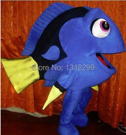 mascot blue fish Dory mascot costume fancy dress custom fancy costume cosplay theme mascotte carnival costume kits