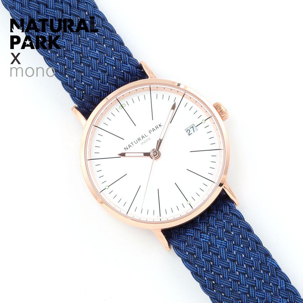NATURAL PARK NEW Brand Rose gold Watches Women Fashion Watch Luxury Quartz-watch Wristwatches Women's Watches For Women Gift