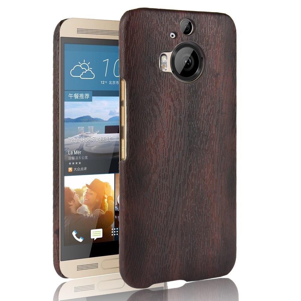 Subin nuevo para HTC uno M9 Plus 5,2 pulgadas PU cuero de madera grano móvil funda para HTC M9 Plus funda para teléfono