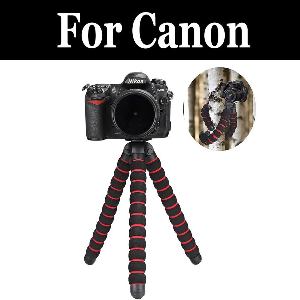 Tamaño máximo de esponja Flexible pulpo Luz de videocámara Slr Dslr cámaras para Canon Powershot G1 G3 G5 G7 G9 X Mark Ii Iii G12 G15 G16