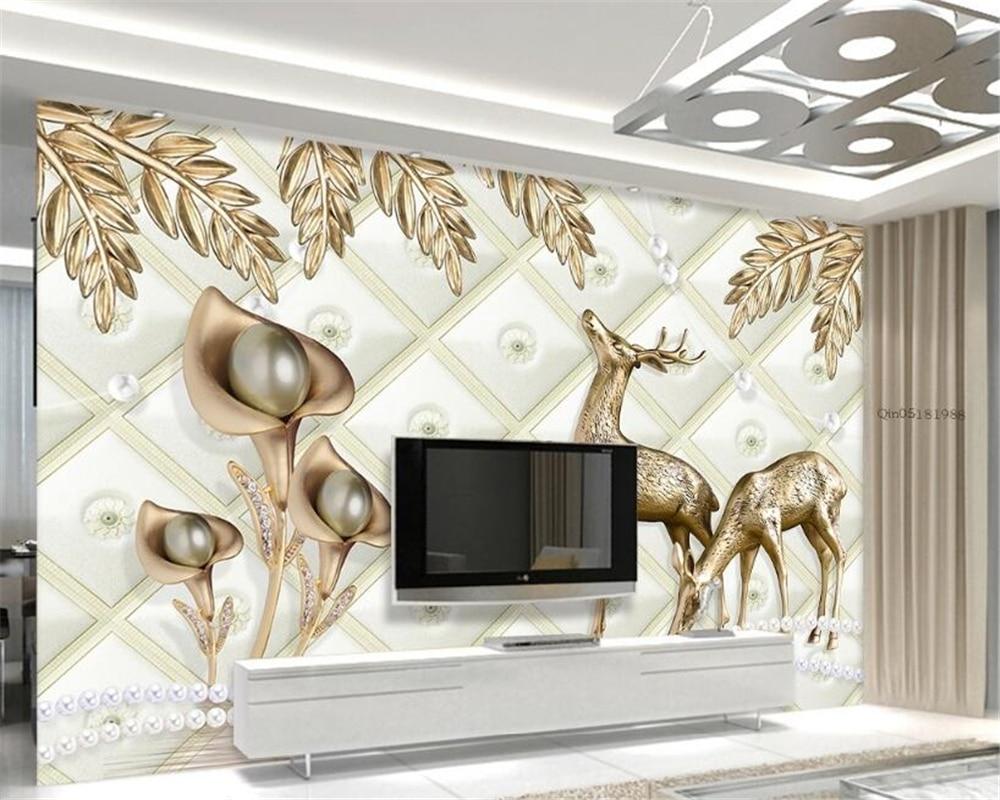Обои для гостиной, спальни, настенное 3D-обои для стен