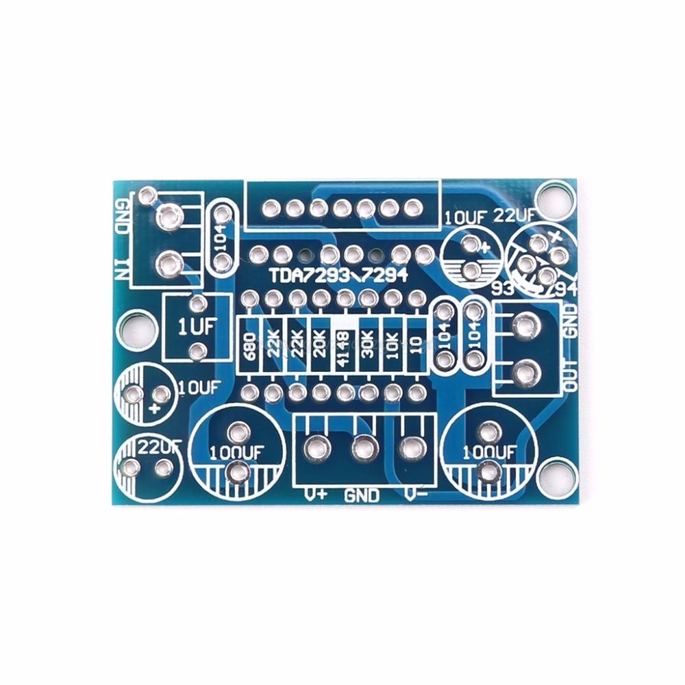 TDA7293/TDA7294 Mono Channel Amplifier Board Circuit PCB Bare Board Amplifier Board Hot diy hi fi 6n3 tube pre amplifier tda7294 amplifier board kit 80w 80w