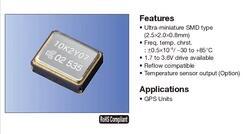 TCXO, 3225*3,2*2,5, 38,4 MHZ 38,4 M 38.400 MHZ oscilador de cristal x 10 piezas