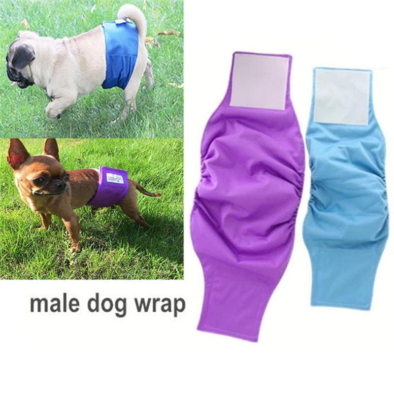 OhBabyKa Reusable Washable Dog Shorts Doggie Diaper Durable Comfortable Stylish Dog Pants Wraps for