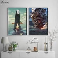 mijadzaki anime kids cartoon posters and prints wall art decorative picture canvas painting for living room home decor unframed
