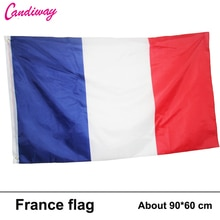 새로운 3ftx2ft 프랑스 국기 국기 슈퍼 폴리 매달려 실내/실외 프랑스 국기 국가 배너 64x96 cm