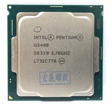 Intel PC Desktop del computer Pentium Processore G5400 3.7G 512KB 4MB CPU LGA 1151-terra di FC-LGA 14 nanometri dual-Core CPU