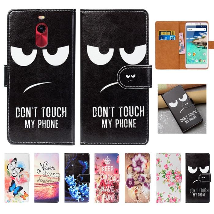 "For Vertex Impress Lagune Case High Quality Pu Leather 5.0"" Flip Wallet Case Back Cover Book Case For Vertex Impress Lagune"