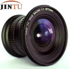 JINTU 15mm f/4.0 F4 Groothoek Macro Fisheye Lens Voor NIKON DSLR Camera D7100 D7000 D5100 D5200 d3400 D3200 D90 D80