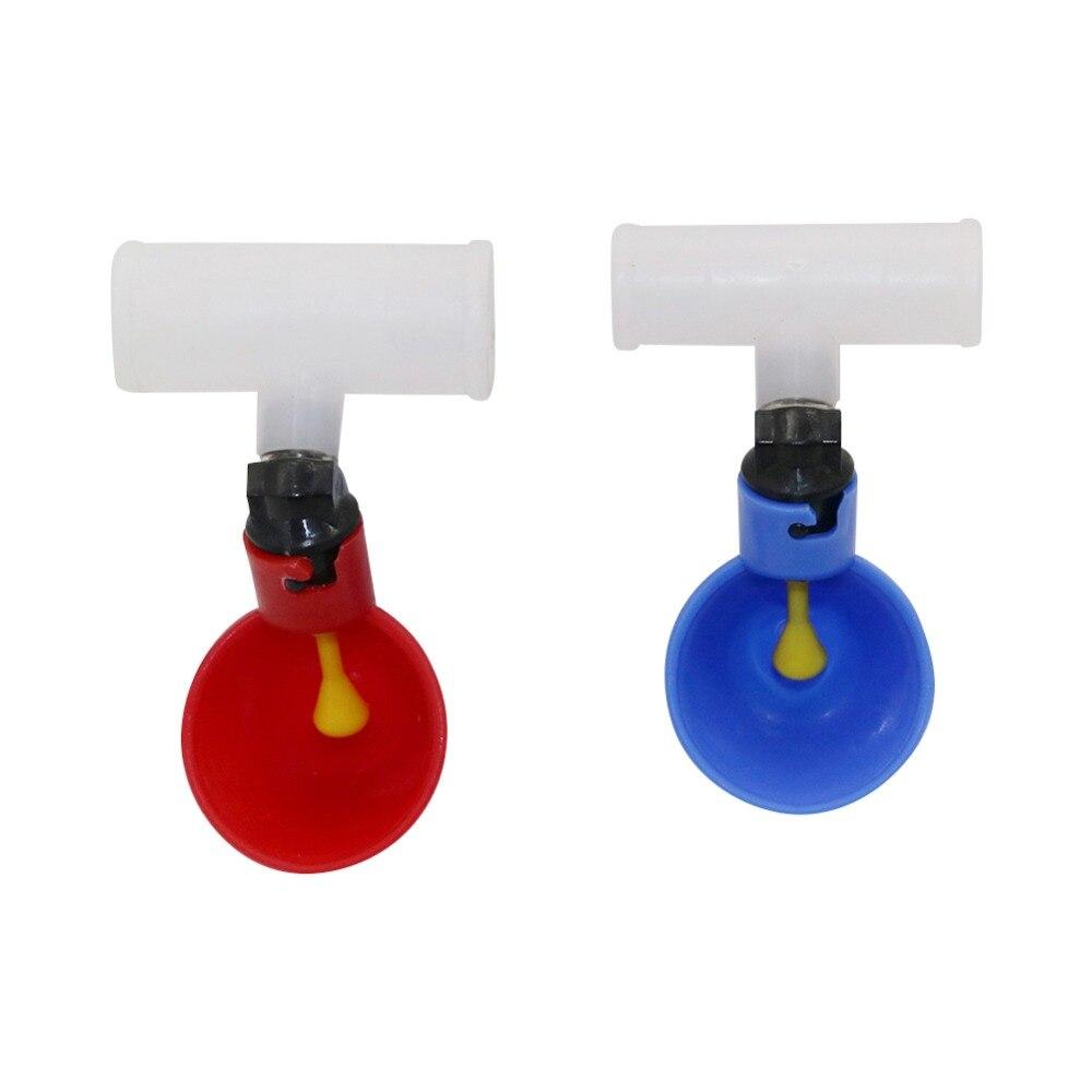 3 pces aves domésticas bebendo o copo 20mm ou 25mm conector plástico automático galinha alimentador de aves domésticas suprimentos