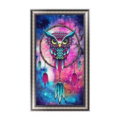 5D Owl Dreamcatcher DIY Diamond Embroidery Painting Cross Stitch Home Decor Party Decoration