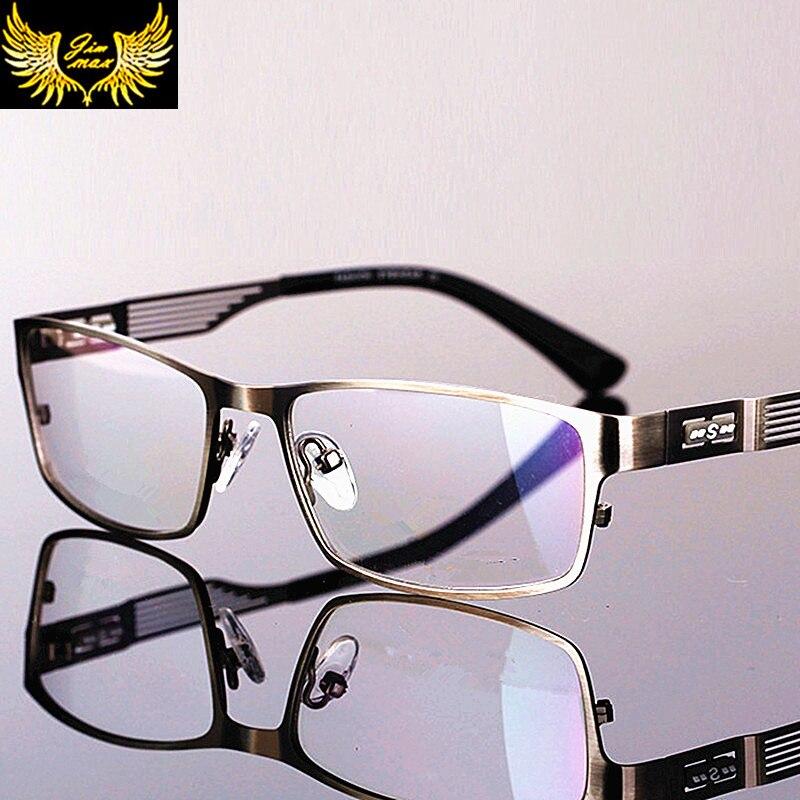 جديد الرجال سبائك التيتانيوم جودة العدسات التقدمية نظارات للقراءة ساحة الموضة كامل حافة الكلاسيكية متعدد البؤر نظارات للرجال
