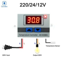Digital Thermostat Temperature Regulator Controller 12V 24V 110V 220V Thermoregulator, Thermostat Incubator Termometro  XH-W3001
