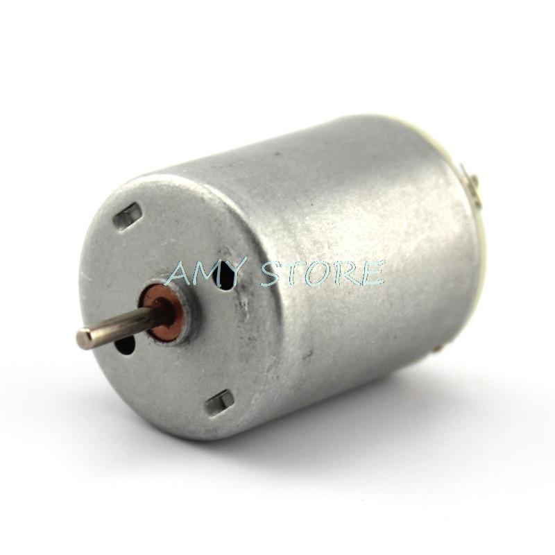 Mini R280 DC Motor de alta velocidad fuerte magnético Barco de juguete modelo de coche DIY motores DC 3-12V 5000-15000RPM
