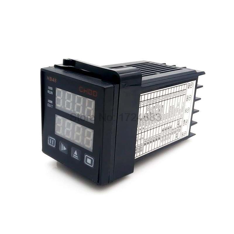 Medidor electrónico HB48 220 V, sensor de medición de longitud de contador diseñado con contador reversible