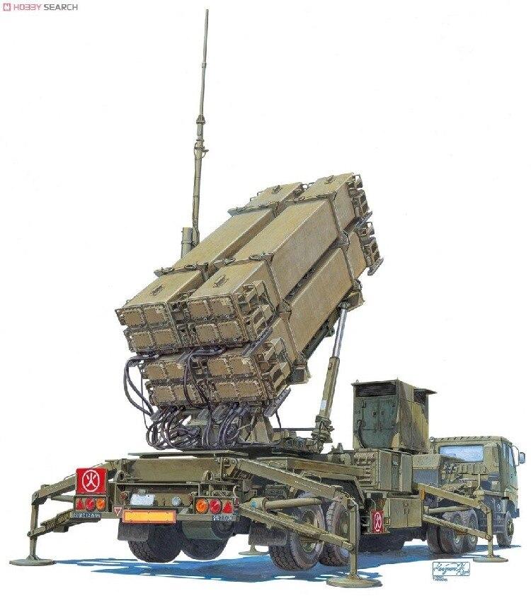 1/72 forças de autodefesa do ar japonês patriot pac3 00995