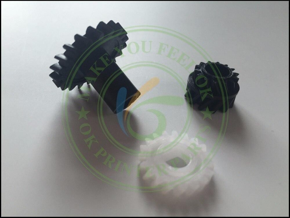 Conjunto de kit engrenagem desenvolvedor compatível unidade engrenagem de condução para konica minolta bizhub 200 222 250 282 362 350 di2510 di3510