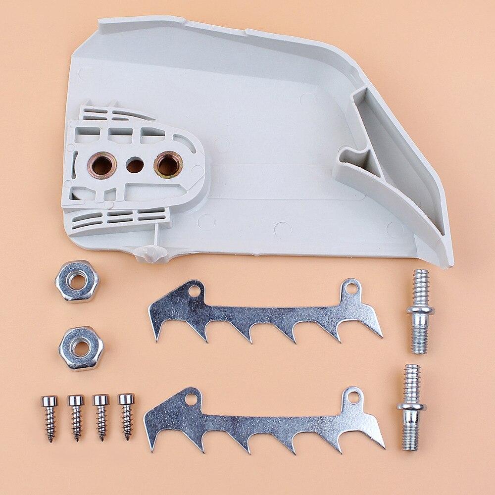 Цепь сцепления чехол бампер шпильки гайки комплект для STIHL MS170 MS180 MS210 MS230 MS250 021 023 025 017 018 бензопилы