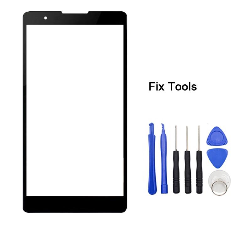 "1 piezas para LG X5 Lente de Cristal frontal de 5,5 ""Pantalla táctil LCD Panel exterior + herramientas"