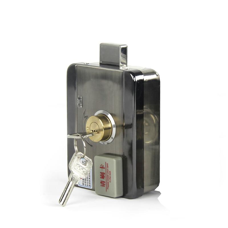Электрический замок управления, электронный дверной замок RFID для видеодомофона, система контроля допуска к двери, система управления видеодомофоном