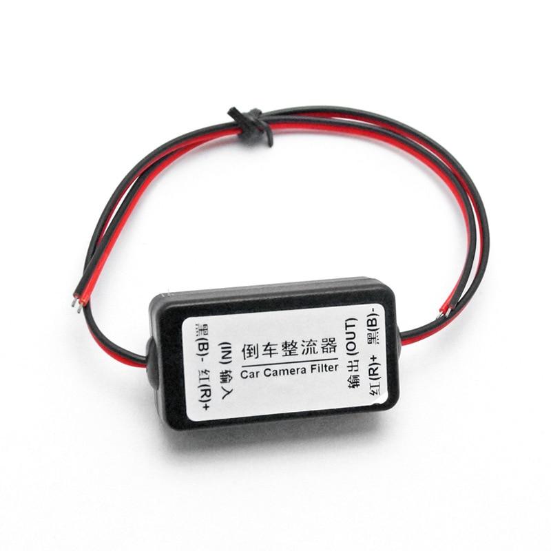Los balastos del rectificador reversible de los filtros del coche de la energía de 12V solucionan el filtro del relé de la interferencia de la pantalla de la onda de la cámara de visión trasera CAS040