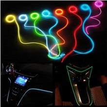 مصباح تزيين السيارة خاص لفورد فوكس 2 فييستا مونديو MK4 فيوجن رينجر موستانج مسند الذراع Ecosport جو داخلي LED أضواء باردة
