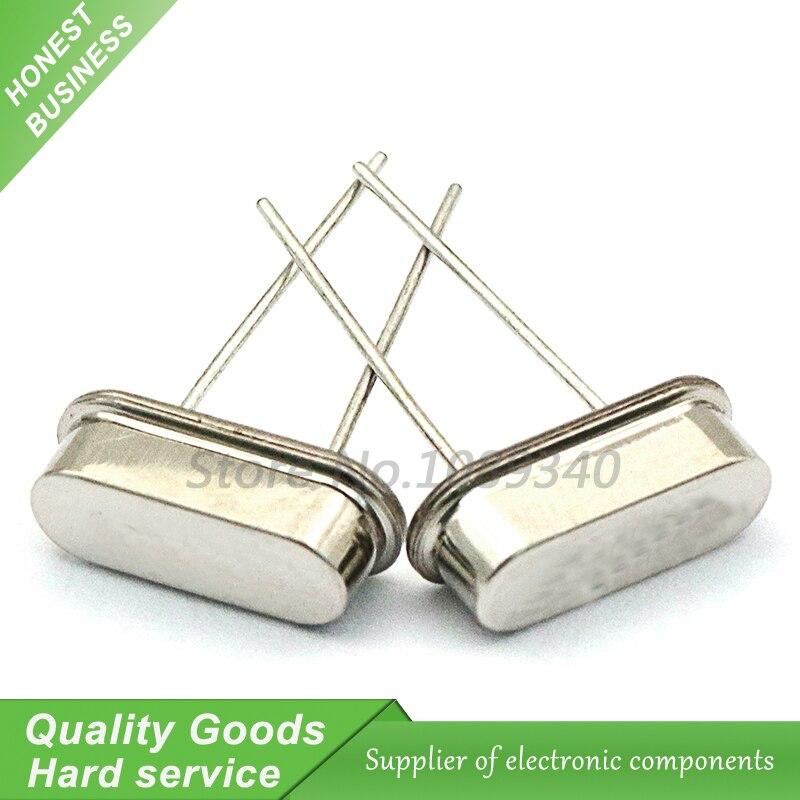 100pcs DIP HC-49S 9.6MHz 9.600mhz 20ppm 20pF quartzo ressonador