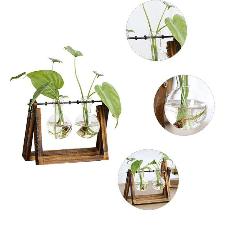 Nuevo jarrón creativo de cristal para plantas, contenedor hidropónico, maceta decorativa para granja, decoraciones para el hogar