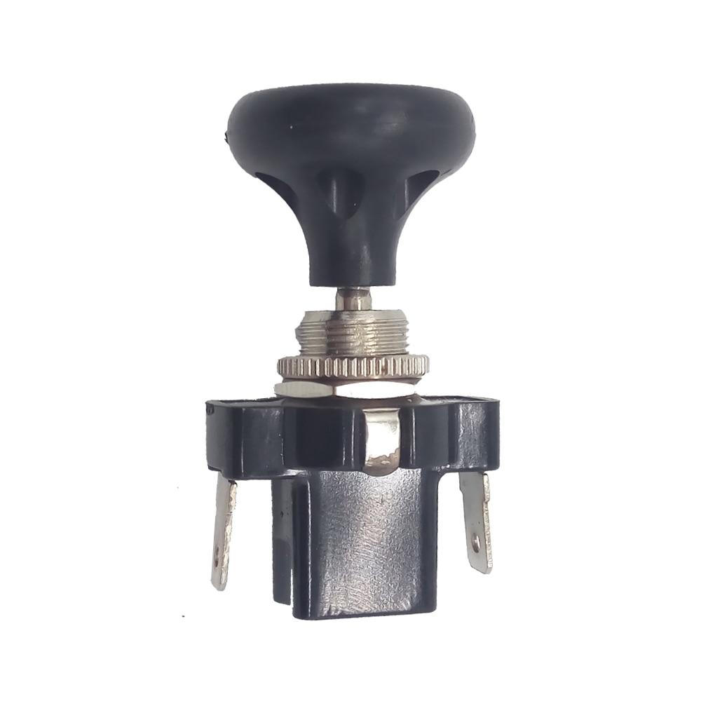 12V carrito de Golf Push/lámpara con tirador interruptor Dash Universal para coche EZGO faros interruptores de coche relés piezas de repuesto