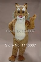 mascot friendly bobcat mascot mascot costume professional customized mascota costumes for holiday party carnival stage