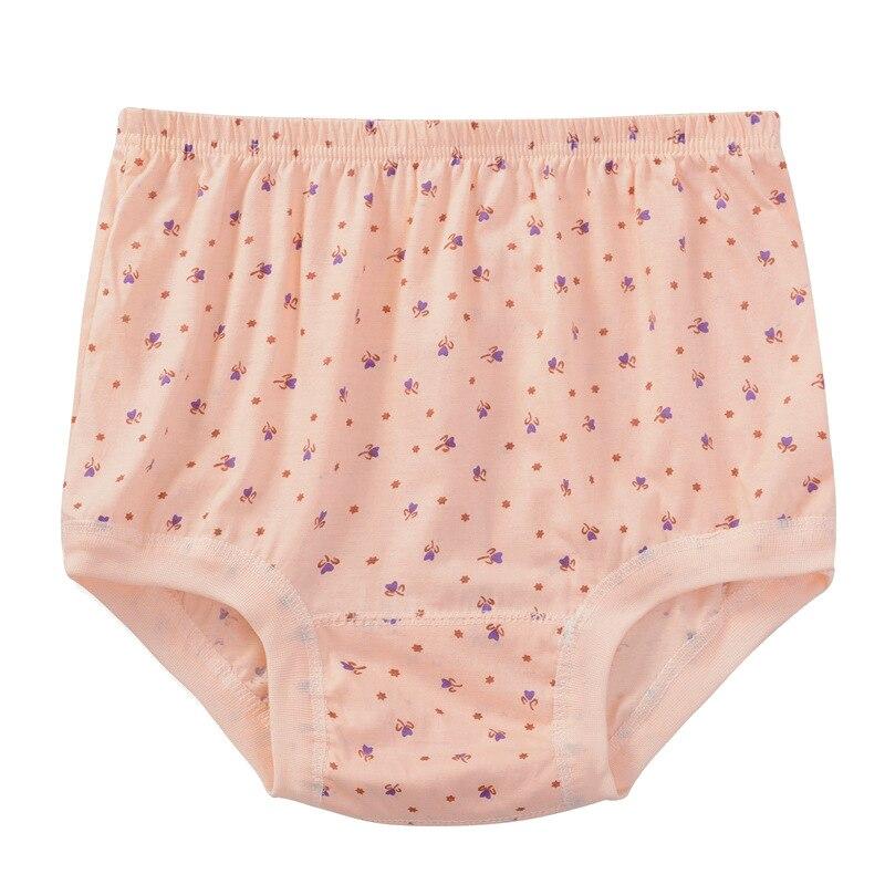 KJ169 Women's Underwear Cotton Panties Female High Waist Big Size briefs knickers sous vetement femme
