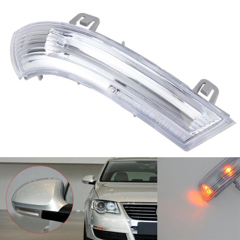 Luz indicadora intermitente LED de espejo lateral derecho 1 Uds. Para V-W MK5 Golf Passat je-tta