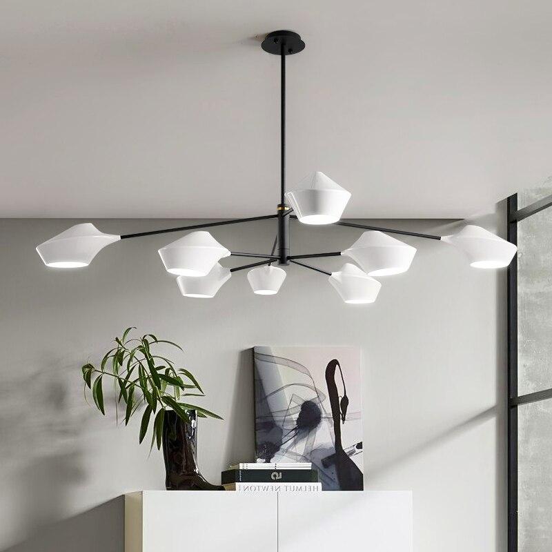 Modern LED chandelier novelty home fixtures loft pendant lamp Nordic living room suspended lighting restaurant hanging lights