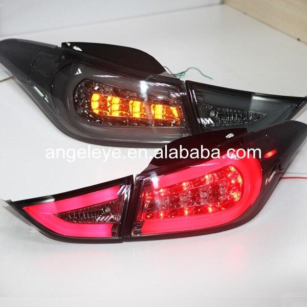 For Hyundai Avante i35 Elantra Rear Light LED Tail Light 2011-2014 year Smoke Black SN