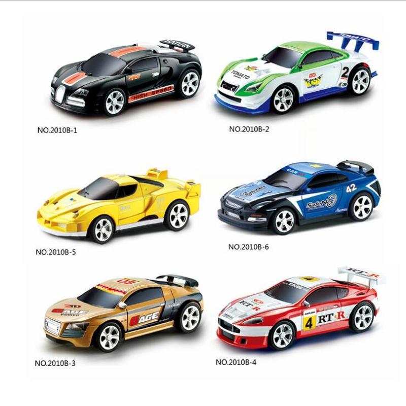 Coke Can Mini coche RC Radio Control remoto, Micro coche de carreras, coche de alta velocidad para niños, regalos de juguete