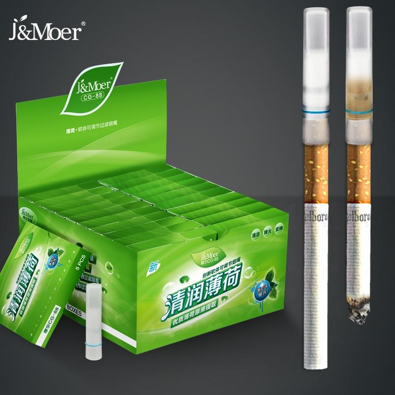 110 mentol ароматизированный держатель для сигарет, фильтр одноразовый мягкий для сигар, табачных смол, фильтр для снижения вредного для сигарет, для предотвращения CG-88